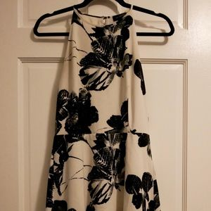 The Limited Floral A-Line Dress